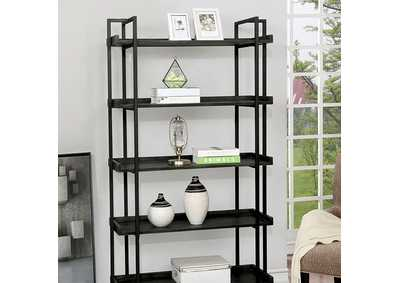 Lucian Grey Ladder Shelf