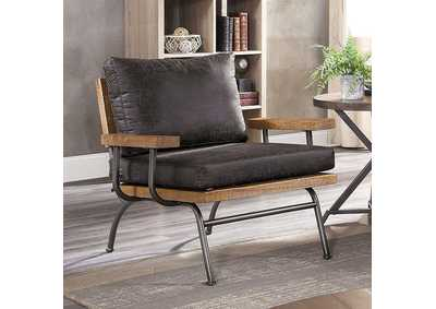 Santiago Brown Accent Chair