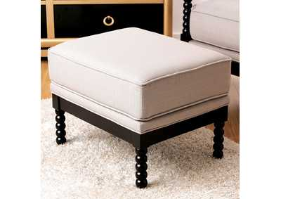 Image for Sybil Beige Ottoman