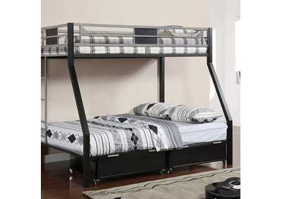 Image for Clifton Twin/Full Metal Bunk Bed