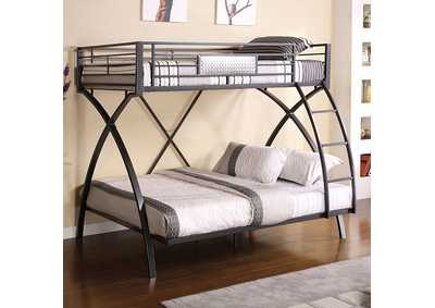 Image for Apollo Twin/Full Metal Bunk Bed