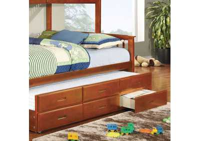 Image for University Oak Twin XL Trundle w/3 Drawers