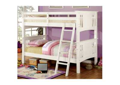 Image for Spring Creek White Twin Bunk Bed