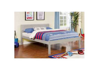 Image for Annemarie Gray Full Platform Bed