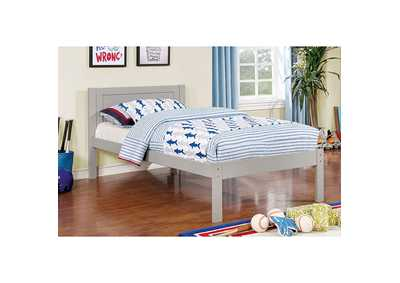 Image for Annemarie Gray Twin Platform Bed