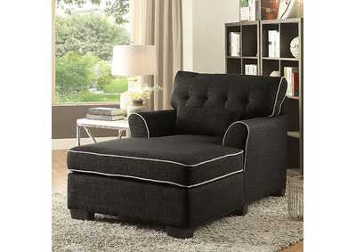 Maire Dark Gray Chaise