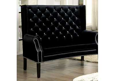 Shayla Black Loveseat Bench