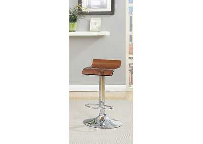 Image for Trixy Brown Low Back Bar Chair (Set of 2)