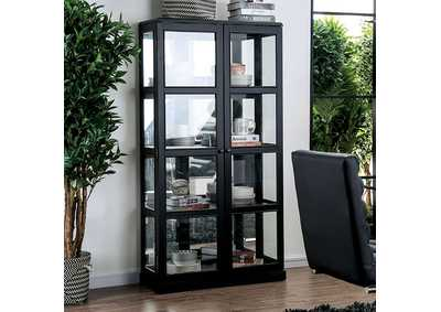 Image for Vilas Black Curio Cabinet