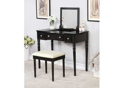 Baylee Black Vanity Set