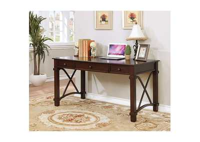 Lila Dark Walnut Desk