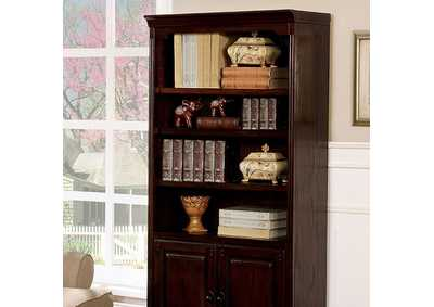 Tami Dark Walnut Book Shelf