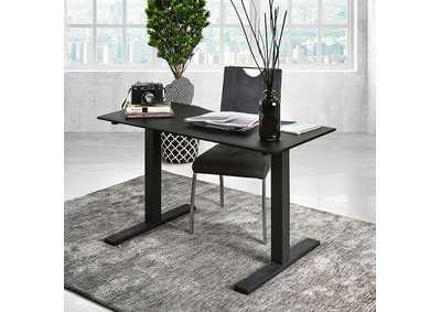 Image for Hedvig Black Adjustable Height Small Desk