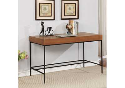 Image for Twain Oak Desk w/Hidden Drawer
