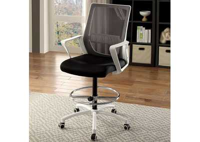 Noely White Office Chair