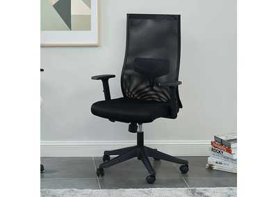 Orli Black Office Chair