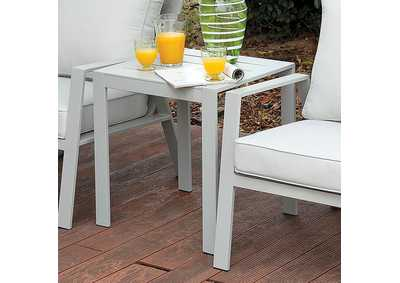 Image for Cordelia Light Gray/Gray End Table