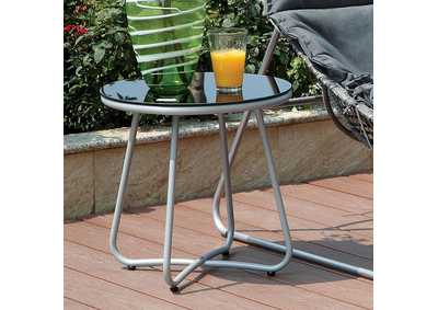 Image for Lili Gray/Silver Side Table