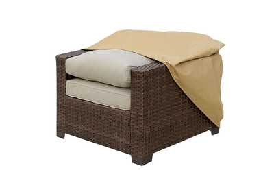 Image for Boyle Large Light Brown Dust Cover For Chair