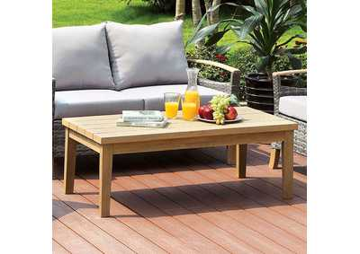 Monica Oak Coffee Table