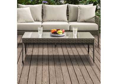 Aleisha Brown Patio Coffee Table