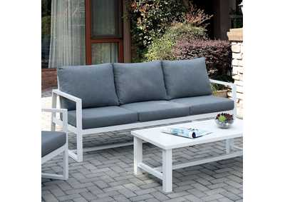 Image for India Gray Patio Sofa