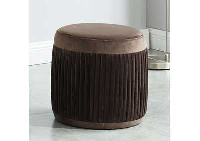 Image for Revel Brown Ottoman