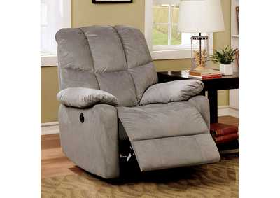Noreen Gray Power Assist Recliner