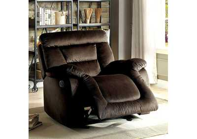 Moira Brown Glider Recliner