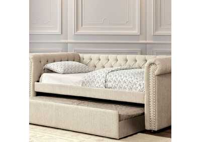Image for Leanna Beige Queen Daybed w/Trundle