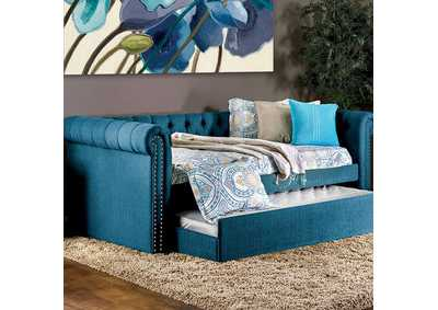 Image for Leanna Dark Teal Daybed w/Trundle
