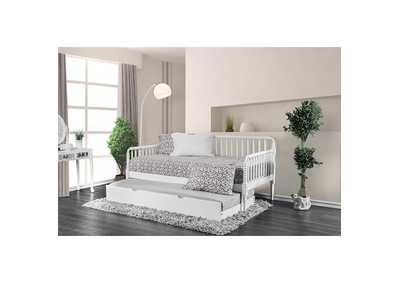Image for Linda White Twin Daybed