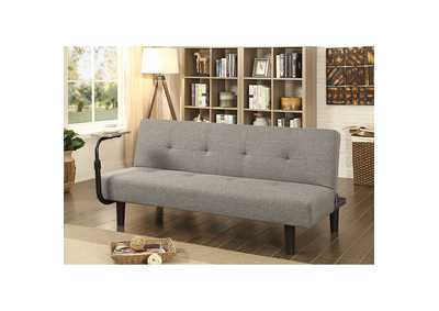 Image for Bandon Gray/Espresso Futon Sofa