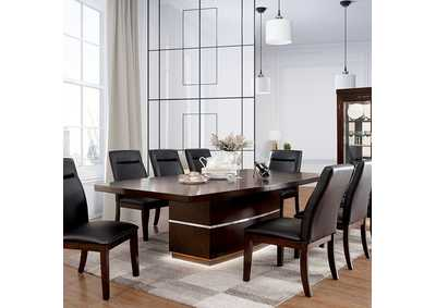 "Image for Lawrence Dark Cherry Dining Table w/1 18"" Leaf"