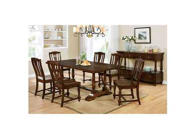 Griselda Brown Cherry Dining Table
