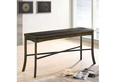 Buhl I Brown Counter Height Dining Bench