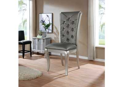 Image for Amina Grey Oversized Display Chair