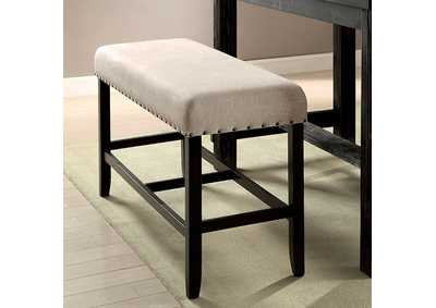 Image for Sania II Antique Black/Beige Counter Bench