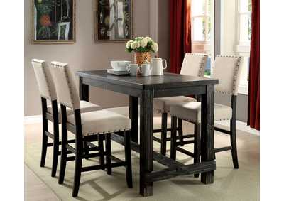 Image for Sania Ii Brown Counter Height Dining Table