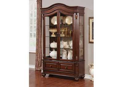 Image for Sylvana Brown Hutch & Buffet