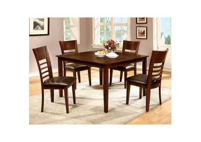 Image for Hillsview I Brown 5 Piece. Dining Set