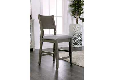 Image for Anton II Gray Counter Height Chair (Set of 2)