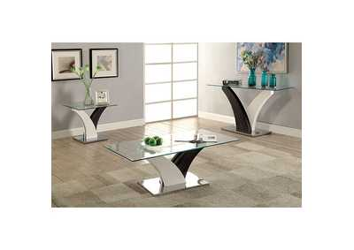 Image for Sloane White and Gray Coffee Table