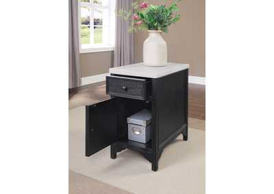 Mcgill Black Side Table