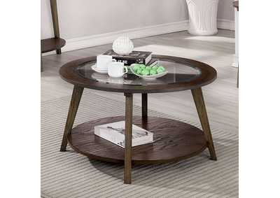Uriel Brown Coffee Table