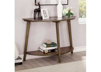 Uriel Brown Sofa Table