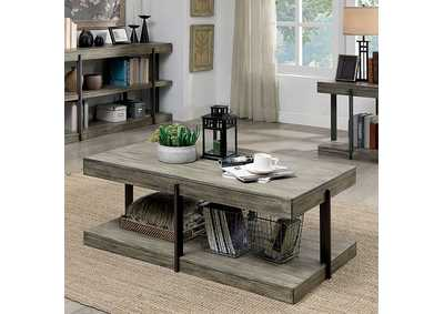 Image for Tual Grey Coffee Table