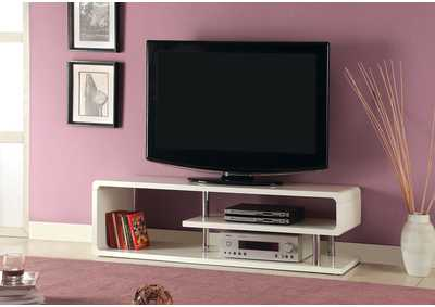 "Image for Ninove ll 55"" White Lacquer TV Console"