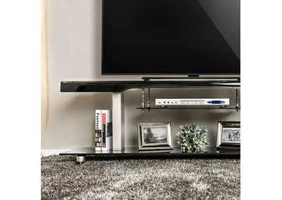 "Image for Dietrich Black 60"" TV Console"