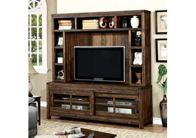 "Image for Hopkins Dark Walnut 72"" TV Console"
